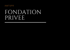 FONDATION PRIVEE